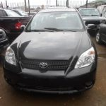 Clean tokunbo Toyota matrix 4