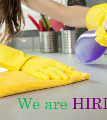 Office Cleaner urgently needed 1