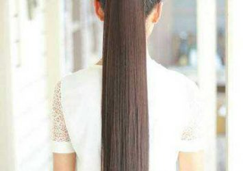 Ponytail hair extension 18