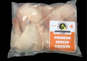 Apostrophe premium frozen chicken 9