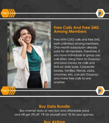 Join Daypayz for free calls and cheap data 1