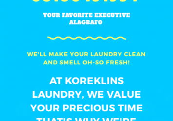 Laundry and cleaning services 3