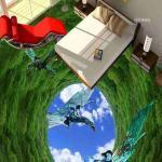 3D Avatar Epoxy Flooring 3