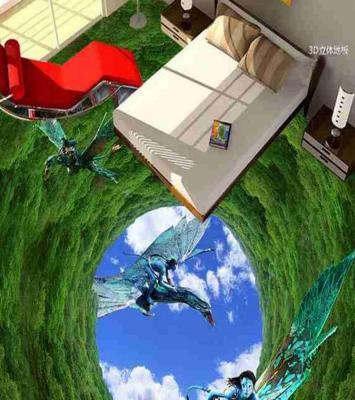 3D Avatar Epoxy Flooring 10