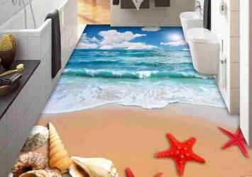 3D Bathroom Seaworld Picture Porcelain Wall and Floor Tile 13