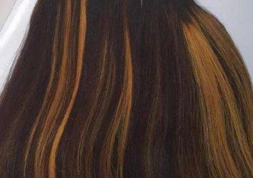 Human hair 10
