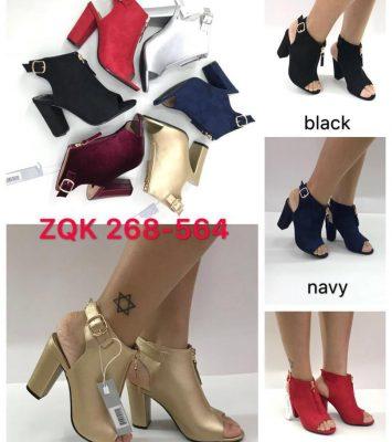 Block heels shoe 1