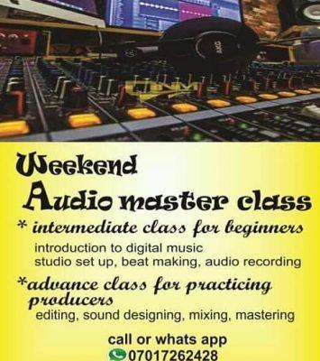 music production training 5