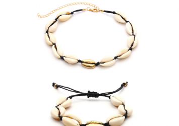 Bracelet + neckpiece 8