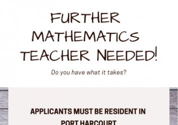 FURTHER MATHEMATICS TEACHERS 3