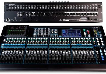 Allen and Heath Qu32 digital mixer 3