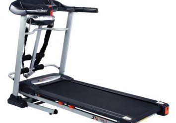 TREADMILL EXERCISE MACHINE WITH MUSIC, MASSAGER & 120KG USER 63