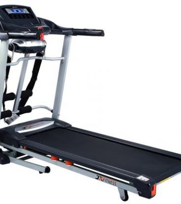 TREADMILL EXERCISE MACHINE WITH MUSIC, MASSAGER & 120KG USER 10