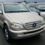 2003 MERCEDES ML-350 FOR SALE AT AUCTION CALL 08067816891 1