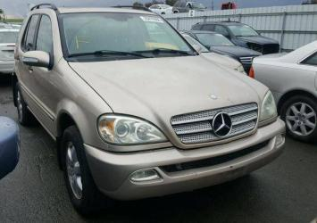 2003 MERCEDES ML-350 FOR SALE AT AUCTION CALL 08067816891 25