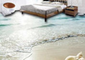 3D Bedroom Seaworld Floor Tile 9