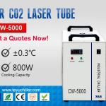 CW5000 Water Chiller for CO2 Laser Cutting Machine 220/110V 50/60Hz 1