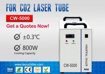 CW5000 Water Chiller for CO2 Laser Cutting Machine 220/110V 50/60Hz 17