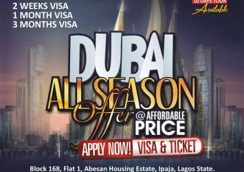 Dubai all season offer ( Visit and Employment) 1