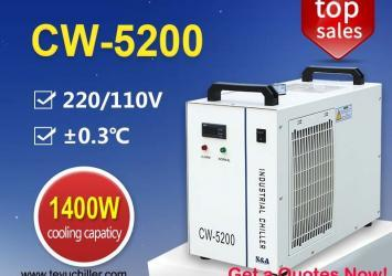 Recirculating Water Chiller CW5200 for 130W co2 laser cutting machine 16