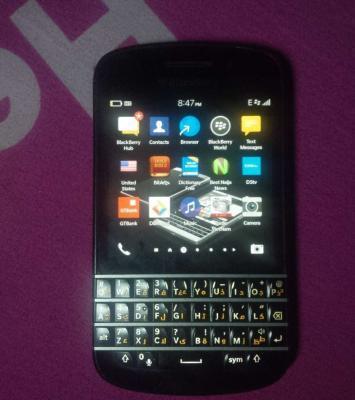 clean blackberry q10 1