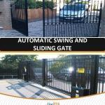 AUTOMATIC SLIDING AND SWING GATE INSTALLATION 4