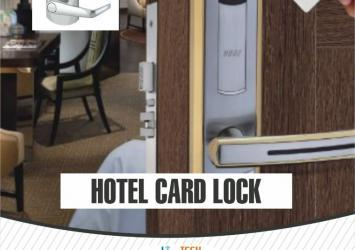 HOTEL  RFID CARD LOCK INSTALLATION 3