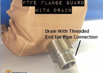Ptfe flange guard 1