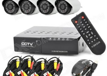 4 Channel HD CCTV Camera In Benin By EZILIFE 3