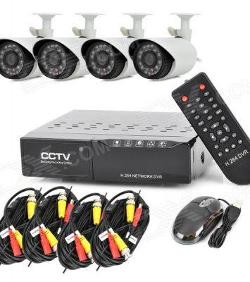 4 Channel HD CCTV Camera In Benin By EZILIFE 4