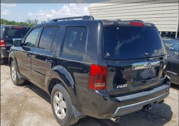2009 HONDA PILOT EXL AUTO AUCTION 13
