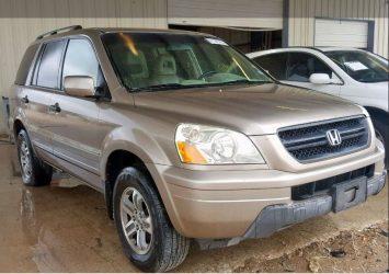 2004 HONDA PILOT EXL - via Auto auction Mall 23
