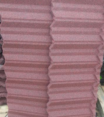 Mango stone coated roofing sheet in Lagos Nigeria. 14