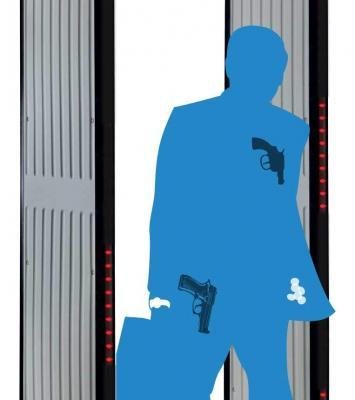 Walk Through Metal Security Detector By Ezilife 14
