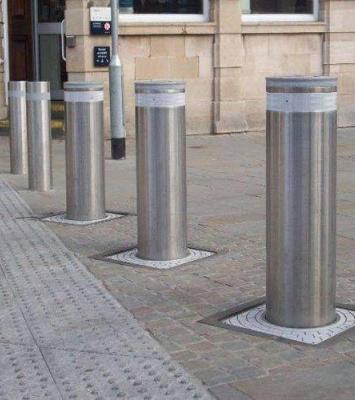 Automatic Rising Bollard System Installation In Nigeria 5
