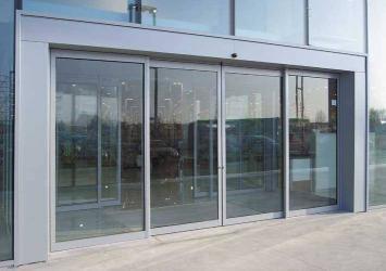 Auto Sliding Glass Entrance For Super Market By Ezilife 4