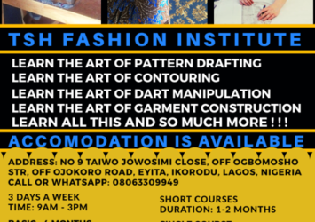 TSH Fashion Institute Registration 2