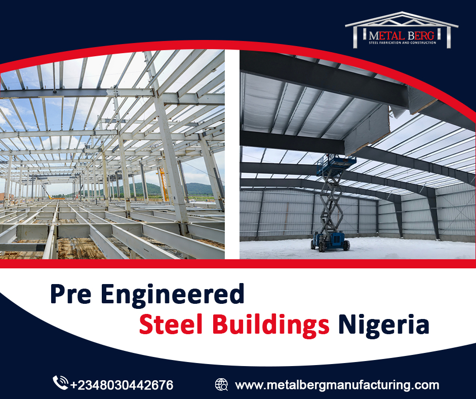 Commonly Trend Pre engineered steel building Nigeria