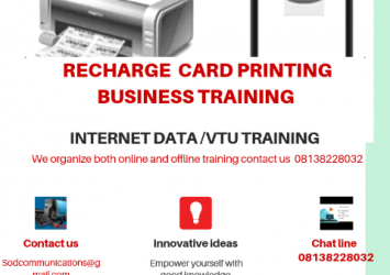 Recharge card business training 4