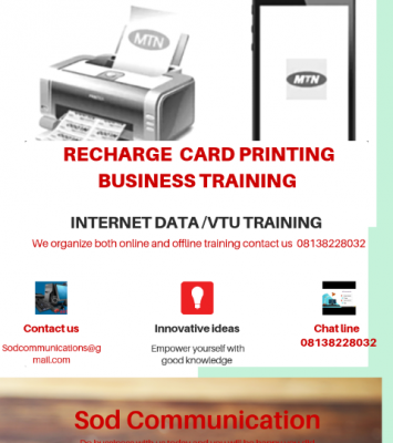 Recharge card business training 1
