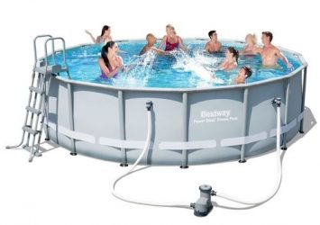 BESTWAY-POWER STEEL 16′ X 48″ POOL SET 25