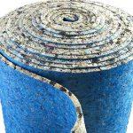 10mm Thick PU Foam Luxury Carpet Underlay Roll 4