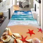 3D Bathroom Seaworld Picture Porcelain Wall and Floor Tile 3
