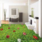 3D Carpet Grass Epoxy Flooring 1