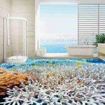 3D Epoxy Floor Art 4