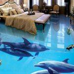 3D Epoxy Flooring for Bedroom 3