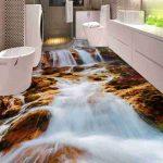 3d Fresh Waterfall Epoxy Flooring 5