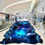 3d Galaxy Epoxy Floor for Show Room 2