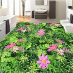 3d Grass Flower Epoxy Flooring 3