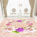3d Pink Flower Epoxy Floor 1
